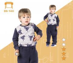 Wykrój Bluzy Dziecięcej Nikolas 86 - 140 Wydruk wielkoformatowy