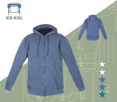Wykrój bluzy Radek XS-XXXL wydruk wielkoformatowy