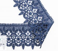 Gipiura 7,5 cm - Ciemnoniebieskie Kwiaty