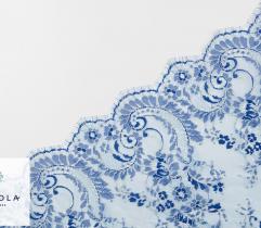 Koronka - Niebieskie Kwiaty