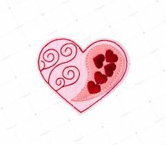Aplikacja Odzieżowa - Walentynkowe Serca