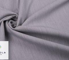 Bawełna z elastanem - Jasnoszary Melanż