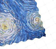 Tkanina Lotos 260 g - Gwieździsta Noc Van Gogh