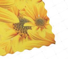 Tkanina Lotos 260 g - Słoneczne Kwiaty