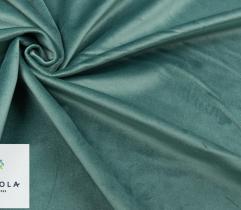 Jerseystoff Velours-Polsterstoff - Pastellgrün