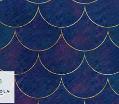 Oxford PU Outdoorstoff - Vielleicht Lila Meer