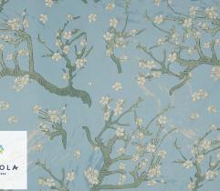 Tkanina Szyfon - Kwitnący Migdałowiec  Van Gogh