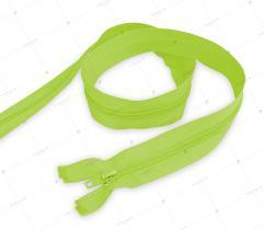 Spiralreißverschluss teilbar 85 cm - Neongelb