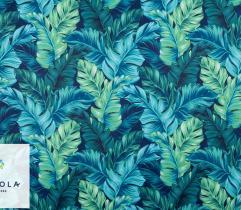 Tkanina Ortalion Pumi - Niebieska Dżungla