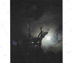 Panel - Jersey Bawełniany Puma 48 x 41 cm