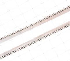 Wypustka Atłasowa Beżowa - 10 mm