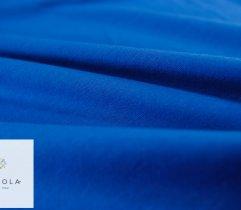 Jersey Single Niebieski Rękaw Szer. 90 cm