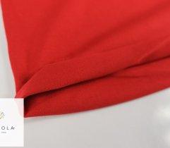 Jersey Single Czerwony Rękaw Szer. 90 cm