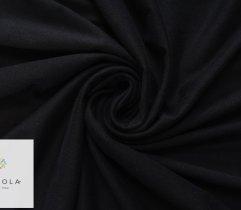 JERSEY SINGLE CZARNY RĘKAW szer. 90CM