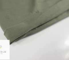 Jersey Single Khaki Rękaw Szer. 90 cm