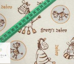 Jersey Single Drukowany Zebra