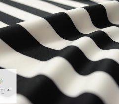 Nurek pasy białe czarne 2 cm