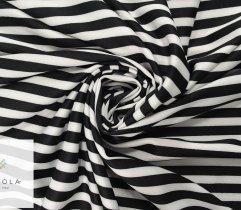 Nurek pasy białe czarne 1 cm