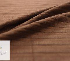 Jersey ITY brąz prążek 100 cm