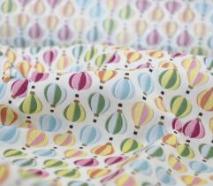 Tkanina bawełniana balony