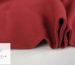 Jersey ściągacz prążek bordowy rękaw szer. 60 cm