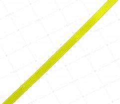Wstążka atłasowa jasnozielona 6 mm