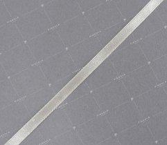 Wstążka atłasowa ecru 6 mm