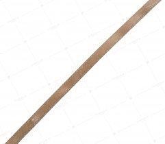Wstążka atłasowa beżowa 6 mm
