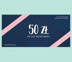 Gift card - 50 PLN
