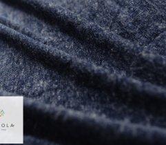 Dzianina swetrowa niebieski melange
