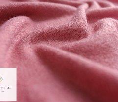 Dzianina swetrowa różowa