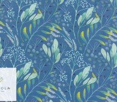 Silki niebieskia łąka