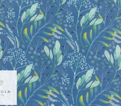 Silki niebieska łąka