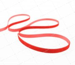 Aksamitka wstążka 9 mm czerwona (419)