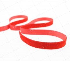 Aksamitka wstążka 16 mm czerwona (416)