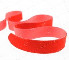 Aksamitka wstążka 25 mm czerwona (422)