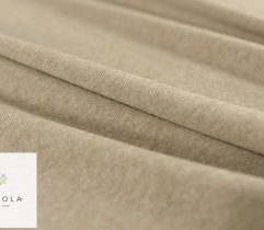 Cotton knitwear, beige, 150 cm
