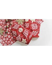 Obrus, serwetki, rękawice kuchenne - szyjemy ozdoby świąteczne