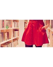 Szyjemy czerwoną spódnicę na Walentynki