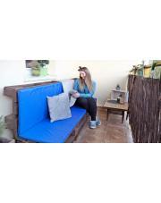 Poduszki do siedzisk wykonanych z palet - realizacja