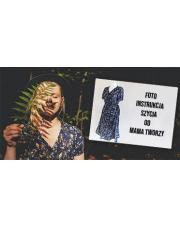 Sukienka z wiskozy by Mama Tworzy