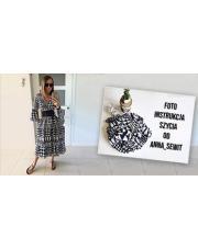 Instrukcja DIY: sukienka z wiskozy by Anna SewIt