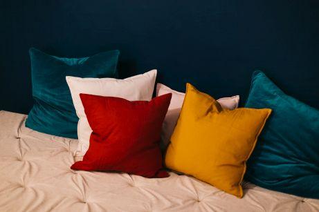 Poduszki dekoracyjne z weluru